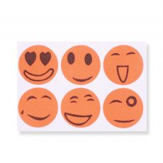 60pcs/Pack Smiling Face Mosquiot Repellent Stickers Mosquito Killer Trap Insect Pest Control For Kids Baby Adult