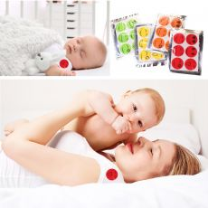 6pcs Cute Smile Face Anti Mosquito Stickers Mosquito Repellent Patch Set