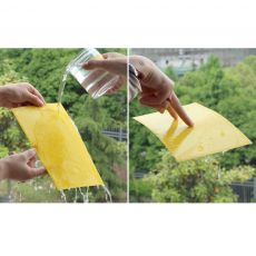 Behogar 5pcs 15*20CM Dual Sided Sticky Traps Board for Outdoor Indoor Flying Plant Pest Insect Mosquitoes Aphids Leafminers