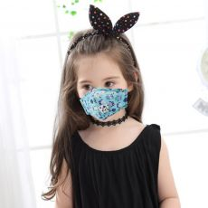Cute PM2.5 Washable Mouth Mask With Valve Kids Children Anti Haze Dust Mask Nose Filter Face Muffle Bacteria Flu Respirator