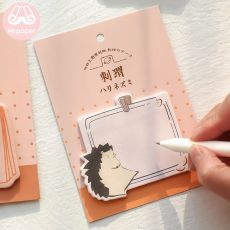 Mr.paper Memo Pad Sticky Notes Cartoon Animals Zoo Notepad Kawaii Stationery Self-Adhesive Memo Pads Office School Supplies
