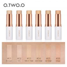 O.TWO.O Concealer Stick Foundation Makeup Full Coverage Contour Face Concealer Cream Base Primer Moisturizer Hide Blemish