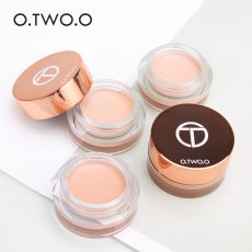 O.TWO.O Eye Primer Concealer Cream Makeup Base Long Lasting Concealer Easy to Wear Cream Moisturizer Oil Control Brighten Skin