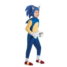 4-13Y Kids Anime Deluxe Sonic The Hedgehog Costume Girl Game Character Cosplay Halloween Costume for Kids