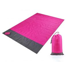 2M*1.4M Waterproof Beach Blanket Outdoor Portable Picnic Mat Camping Ground Mat Mattress Camping  Camping Bed  Sleeping Pad