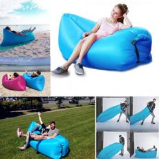 Camping Beach Mat Urlight Air Mattress Bed Women Lazy Inflatable Sleeping Sofa Mat Men Outdoor Folding Mats