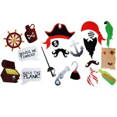Caribbean pirate gun pirate hook eye patch masquerade photo props accessories halloween party decoration supplies children toy
