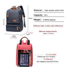 Hot Fashion Men Casual Computer Backpack Light 15.6 inch Laptop Lady Anti-theft Travel Backpack Gray Student School Bag 2019 New