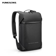 Kingsons 15.6  Inch High Quality Laptop Backpack For Men Teenager School Bag Short Trip Backpacks Fit A4 Files New Mochila 2020