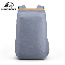 Kingsons New Multifunction Men 15'' Laptop Backpacks Fashion Waterproof Travel Backpack Anti-thief male school bag hot Mochila
