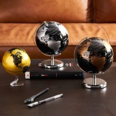 Home Decoration Accessories Retro Rotating Globe Modern Learning Globe Kids Study Desk Decor World Map Geography Kids Education
