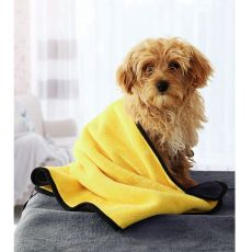Pet Towel Bath Absorbent Towel Soft Lint-free Dogs Cats Bath Towels Absorbent And Quick-drying Large ThickTowel Special Pet Towe