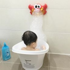 Crabs Bubble Machine Music Baby Bath Toy Bathtub Soap Machine Automatic Bubble Maker Baby Bathroom Funny Toy for Children