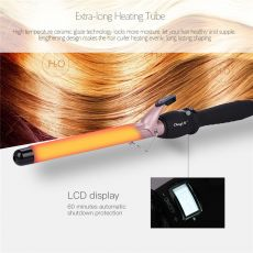 13mm-38mm Professional Hair Curler Ceramic Curling Iron Wand 360 Degree Rotating Clip Hair Wave Roller LCD Display Hair Styling