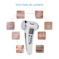 Multifunction Skin Care Ultrasonic Facial Beauty Instrument Face Lift Anti Aging/Wrinkle LED Photon Light Therapy Beauty Machine