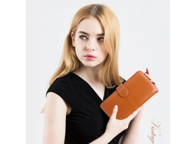 SMOOZA 2020 New Many Departments Faux Suede Long Wallet Women Matte Leather Lady Purse High Quality Female Wallets Card Holder