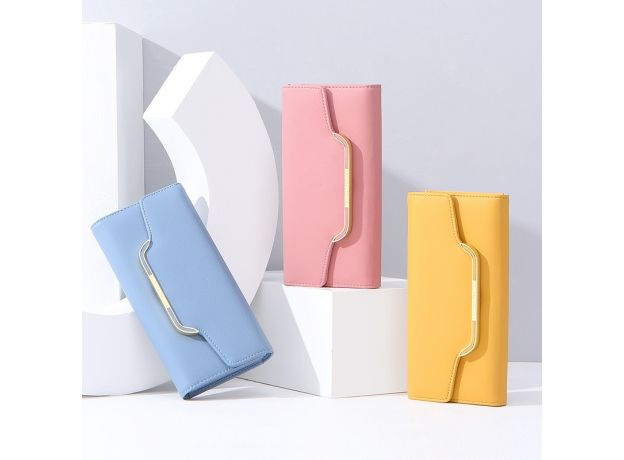 WEICHEN 2020 NEW Clutch Women Wallet Soft Leather Many Department Card Holder Phone Pocket Female Long Wallets Ladies Purse